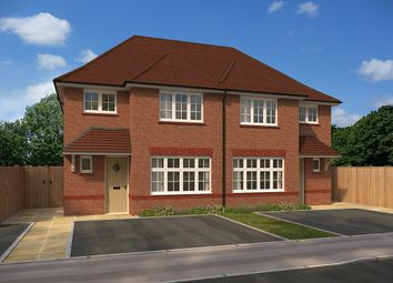 "Thumbnail 3 bedroom semi-detached house for sale in ""Ludlow"" at Bullockstone Road, Herne Bay"