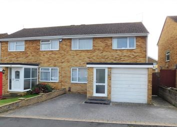 Thumbnail 3 bed semi-detached house for sale in Harkwood Drive, Hamworthy, Poole