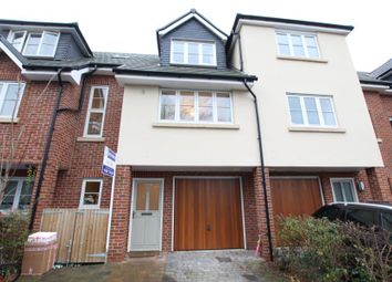 Thumbnail 3 bed town house to rent in York Close, Byfleet, West Byfleet