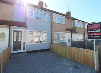 Osborne Avenue, Stanwell, Staines TW19. 2 bed terraced house for sale