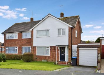 Thumbnail 3 bed semi-detached house for sale in Milton Crescent, East Grinstead
