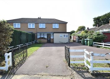 Thumbnail 3 bed semi-detached house for sale in Oakley Road, Millbrook, Southampton