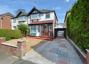 Thumbnail 3 bed semi-detached house for sale in Canterbury Drive, Prestwich, Manchester