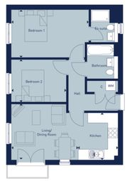 Thumbnail 2 bed flat for sale in Coxwell Road, Faringdon