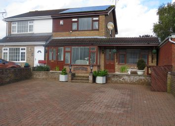 Thumbnail 3 bed semi-detached house for sale in Manor Road, Barlestone, Nuneaton