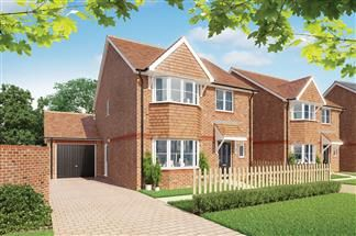 Thumbnail 4 bed detached house for sale in Chinnor Garden Centre, Thame Road, Chinnor