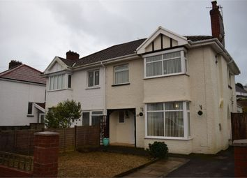 Thumbnail 3 bed semi-detached house for sale in Moorside Road, West Cross, Swansea