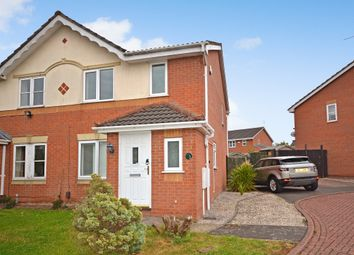 Thumbnail 3 bed semi-detached house for sale in Alcott Close, Braunstone, Leicester