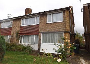 Thumbnail 2 bedroom maisonette to rent in Fair Oak Drive, Luton