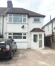 Thumbnail 2 bed flat for sale in The Greenway, Hounslow, Middlesex