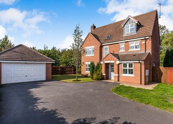 Thumbnail 5 bedroom detached house for sale in Chandlers Croft, Ibstock