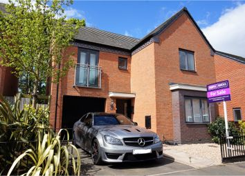 Thumbnail 4 bedroom detached house for sale in Ranger Drive, Wolverhampton