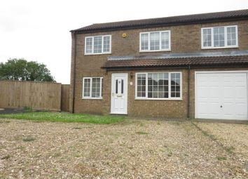 Thumbnail 3 bedroom semi-detached house for sale in Heath Lane, Leasingham, Sleaford