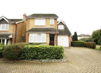Thumbnail 3 bed detached house to rent in Pannells Close, Chertsey