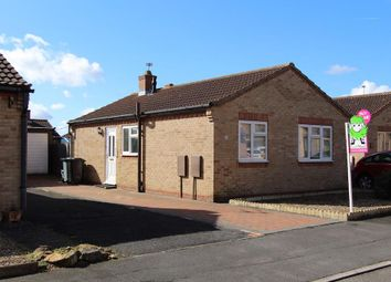 Thumbnail 2 bed detached bungalow for sale in Manchester Way, Grantham