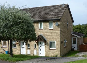 Thumbnail 2 bed semi-detached house for sale in The Spinney, Brackla, Bridgend, Mid Glamorgan