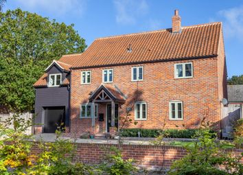 Thumbnail 4 bed detached house for sale in Bells Loke, Brundall, Norwich