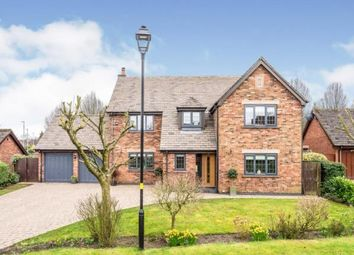 Thumbnail 4 bed detached house for sale in Littlecote Gardens, Appleton, Warrington, Cheshire