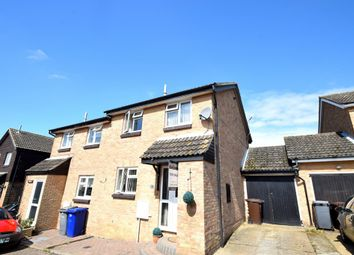 Thumbnail 3 bedroom semi-detached house for sale in Rockall Close, Haverhill