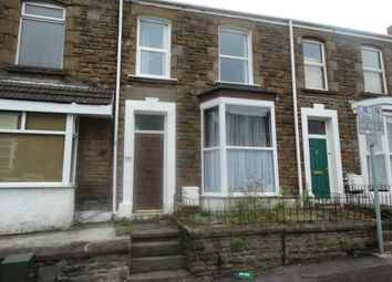Thumbnail 1 bed terraced house to rent in Rhondda Street, Mount Pleasant, Swansea