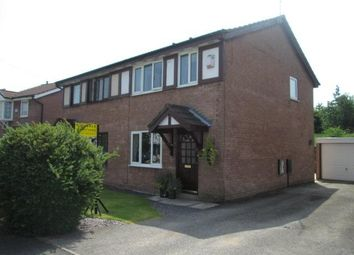 Thumbnail 3 bed semi-detached house to rent in Howard Road, Culcheth, Warrington