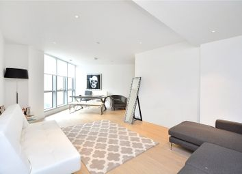 Thumbnail 1 bed flat for sale in Charrington Tower, 11 Biscayne Avenue, London