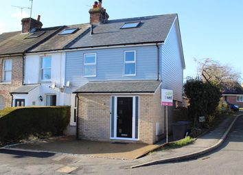 Thumbnail 4 bedroom end terrace house for sale in Queens Road, Crowborough, East Sussex