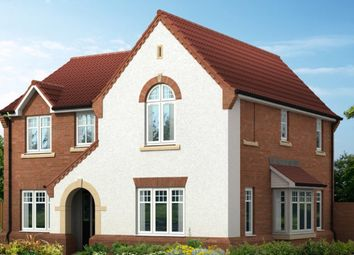 "Thumbnail 4 bed detached house for sale in ""The Salcombe V1 Contemporary"" at Doublegates Avenue, Ripon"
