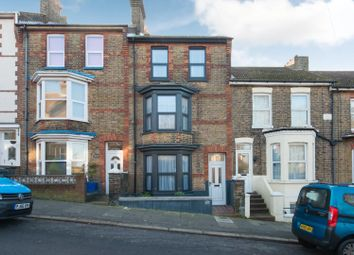 Thumbnail 4 bed terraced house for sale in Thanet Road, Ramsgate