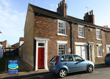 Thumbnail 3 bed terraced house to rent in Lairgate, Beverley