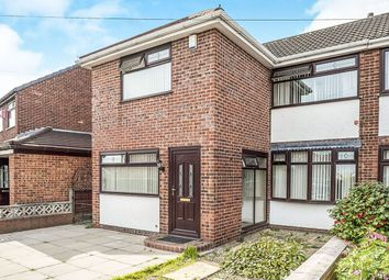 Thumbnail 3 bed semi-detached house for sale in Bosworth Road, St. Helens