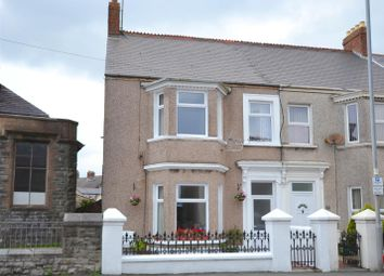 Thumbnail 4 bedroom end terrace house for sale in Great North Road, Milford Haven