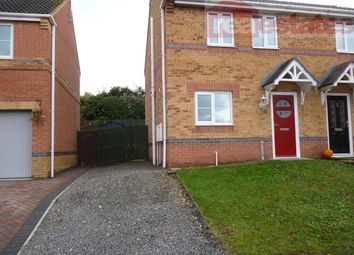Thumbnail 3 bed semi-detached house to rent in Celandine Way, Shildon