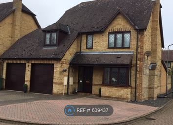 Thumbnail 4 bed detached house to rent in Chantry Close, Milton Keynes