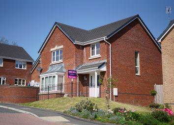 Thumbnail 4 bed detached house for sale in Heol Miaren, Llanharry, Pontyclun