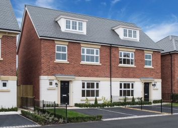 Thumbnail 4 bed town house for sale in Earl's Park. Chester Lane, Chester, Cheshire