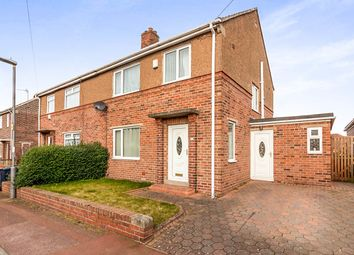 Thumbnail 3 bed semi-detached house for sale in Runhead Estate, Ryton