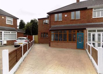 Thumbnail 3 bed semi-detached house for sale in Langfield Crescent, Droylsden, Manchester