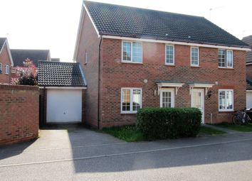 Thumbnail 3 bed semi-detached house for sale in Salk Road, Gorleston, Great Yarmouth