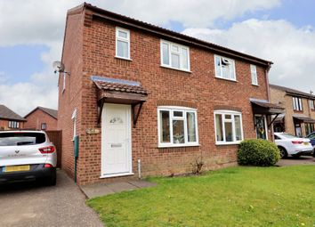 Thumbnail 3 bed semi-detached house for sale in Suffield Close, Long Stratton, Norwich