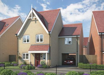 Thumbnail 4 bedroom link-detached house for sale in Fornham Place At Marham Park, Off Tut Hill, Bury St Edmunds, Suffolk