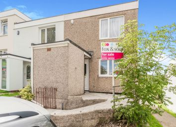 Thumbnail 3 bedroom end terrace house for sale in Lamerton Close, Plymouth