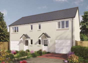 "Thumbnail 3 bed semi-detached house for sale in ""The Newton"" at Lignieres Way, Dunbar"