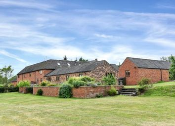 Thumbnail 6 bed barn conversion for sale in Gratwich, Uttoxeter, Staffordshire