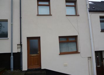 Thumbnail 3 bed terraced house to rent in Peter Terrace, Swansea