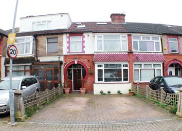 Thumbnail 4 bed terraced house for sale in Chatsworth Avenue, Cosham, Portsmouth