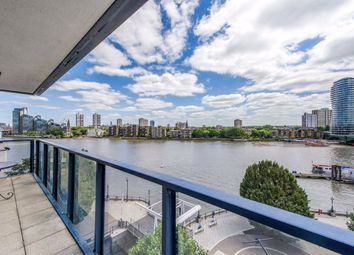Thumbnail 3 bed flat for sale in The Belvedere, Chelsea Harbour, London