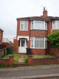 Thumbnail 3 bedroom end terrace house to rent in Purefoy Road, Cheylesmore, Coventry