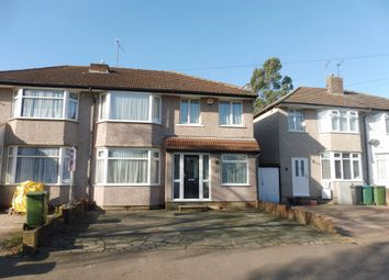 Thumbnail 4 bed semi-detached house for sale in Westlea Avenue, Watford