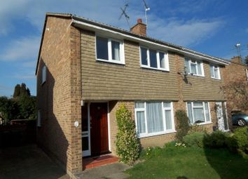 Thumbnail 3 bedroom semi-detached house for sale in Broome Close, Horsham